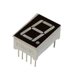 Wyświetlacz LED 1 cyfra h:14,22mm zielony W.A.