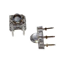 LED 5mm bursztynowa S.FLUX x 2szt