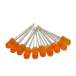 Dioda LED 5mm pomarańczowa mat x 10szt