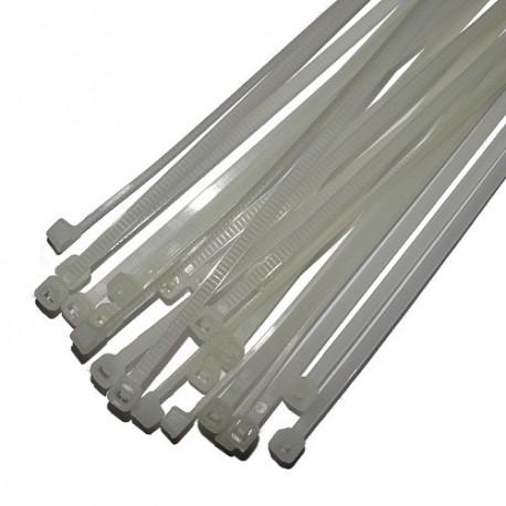 Opaski zaciskowe 1.9x150mm białe