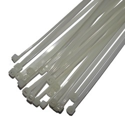 Opaski zaciskowe 2,9x250mm białe