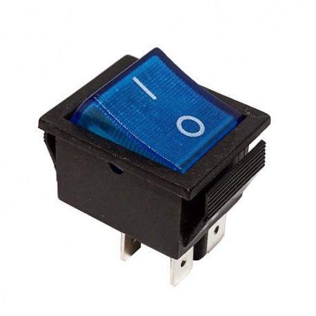 Przełącznik MK621 podśw. szeroki 12V niebieski