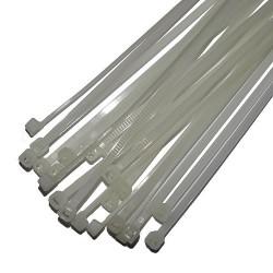 Opaski zaciskowe 3.5x250mm białe
