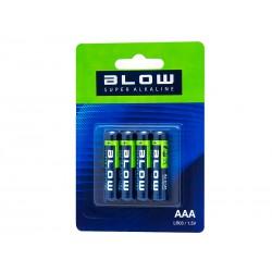Bateria BLOW SUPER ALKALINE AAA LR3 blister x4szt