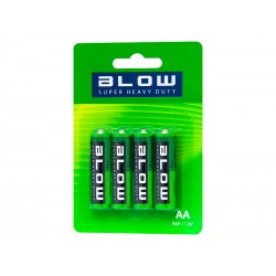 Bateria BLOW SUPER HEAVY DUTY AA R06P BLISTER x4szt
