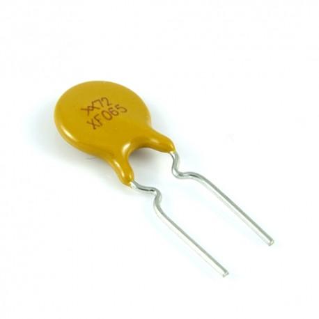 Bezpiecznik polimerowy 0.65A 72V R:5.1mm