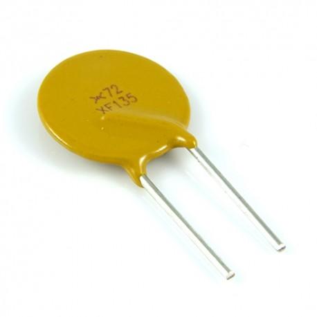 Bezpiecznik polimerowy 1.35A 72V R:5.1mm