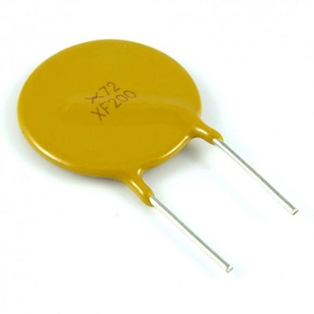 Bezpiecznik polimerowy 2A 72V R:10.2mm
