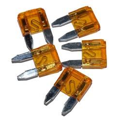 Bezpiecznik samochodowy mini 5A x 5szt