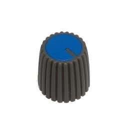 Gałka pot. szara śred:5mm GS15 niebieska