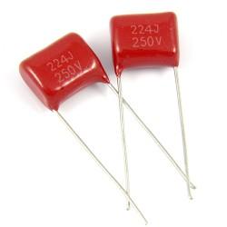 Kondensator MKSE 220nF/250V R:10mm x 2szt