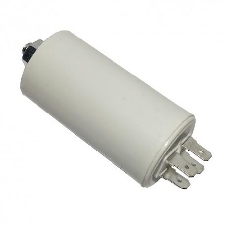 Kondensator silnikowy 10uF/450VAC konektory