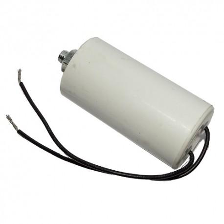 Kondensator silnikowy 40uF/450VAC z przewodami