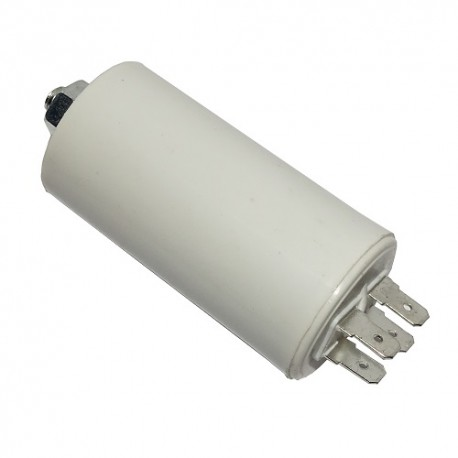 Kondensator silnikowy 8uF/450VAC konektory