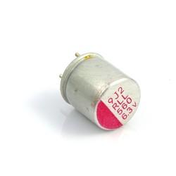 Kondensator polimerowy 560uF/6,3V 8x8mm