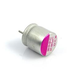 Kondensator polimerowy 680uF/6,3V 8x8mm