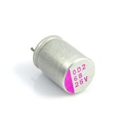 Kondensator polimerowy 68uF/25V 8x12mm