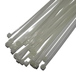 Opaski zaciskowe 3.5x200mm białe