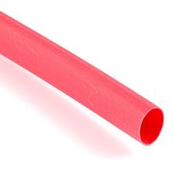Rurka termokurczliwa 4,0/2,0mm czerwona
